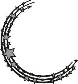 CR1293 Craftables - Stars Semi Circle