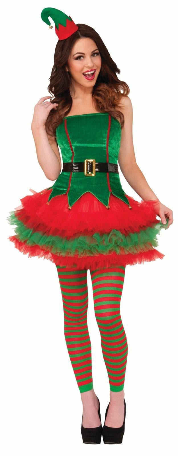 Womens Sassy Elf Costume from Buycostumes.com