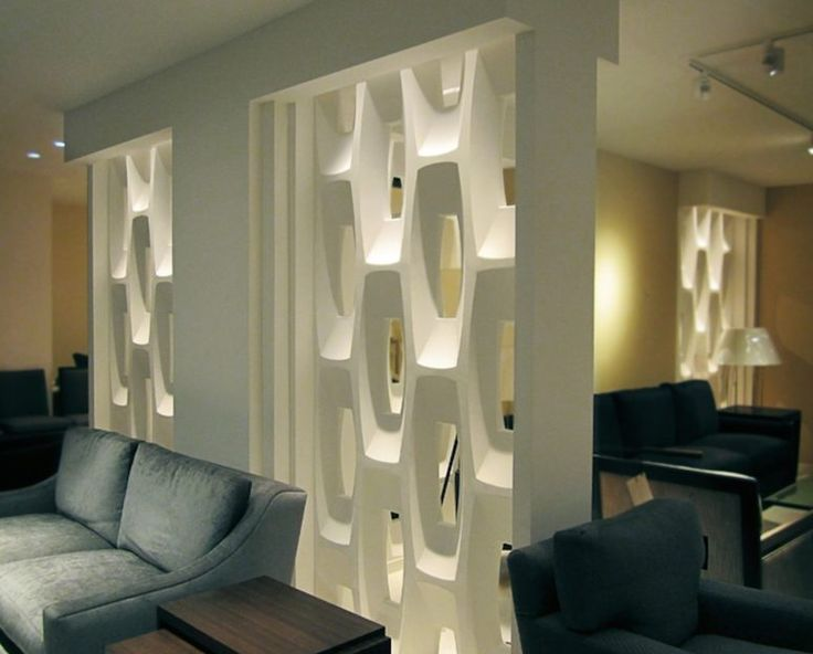 Show-Stopping Sculptural Partition Walls