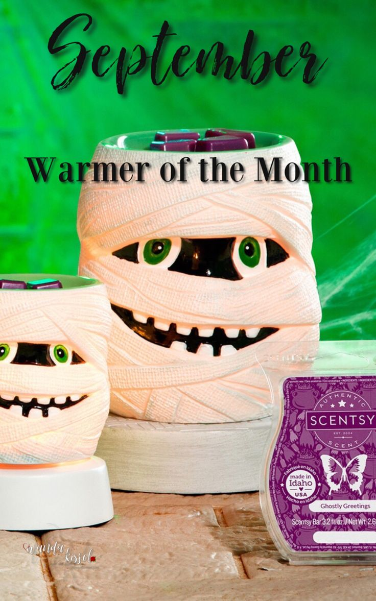 September Warmer of the Month in 2020 Scentsy, Scentsy