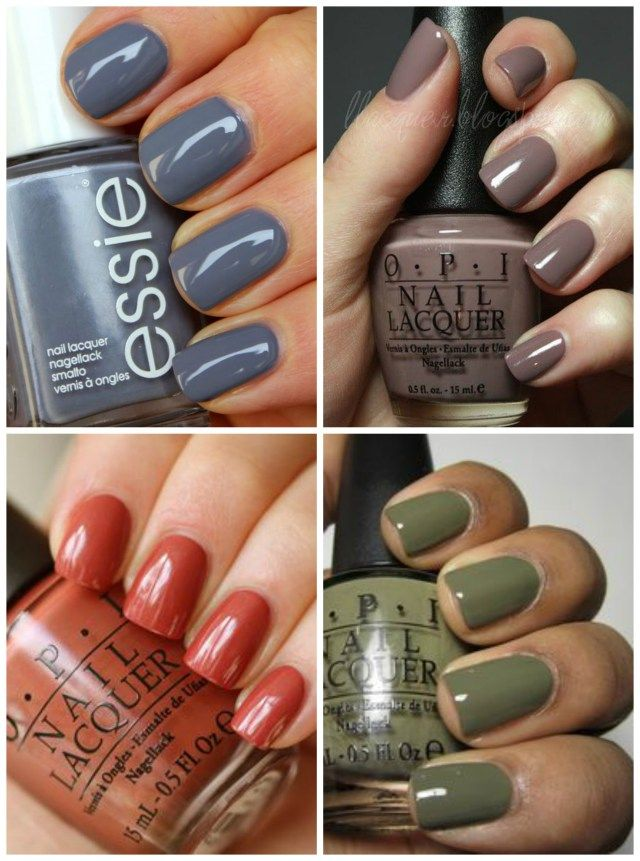 23 Chic Autumn Nail Colours You\'ll Want to Buy ASAP | Autumn nails ...