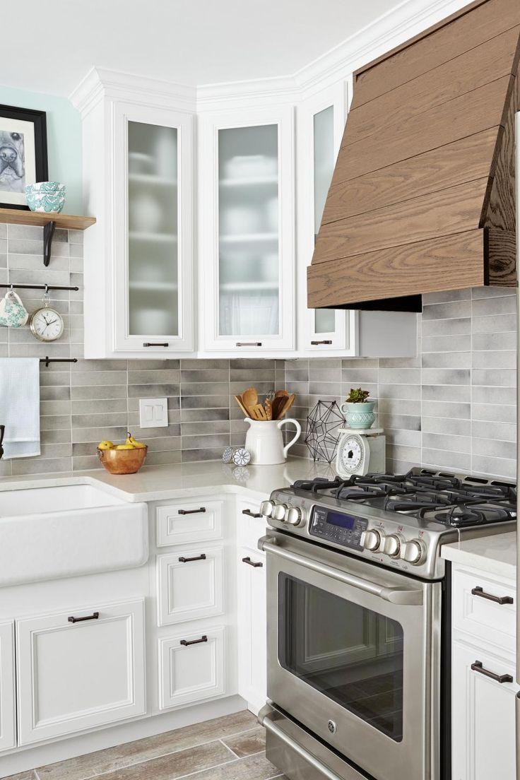 282 best Kitchen Design images on Pinterest | Kitchen reno, Shaker ...