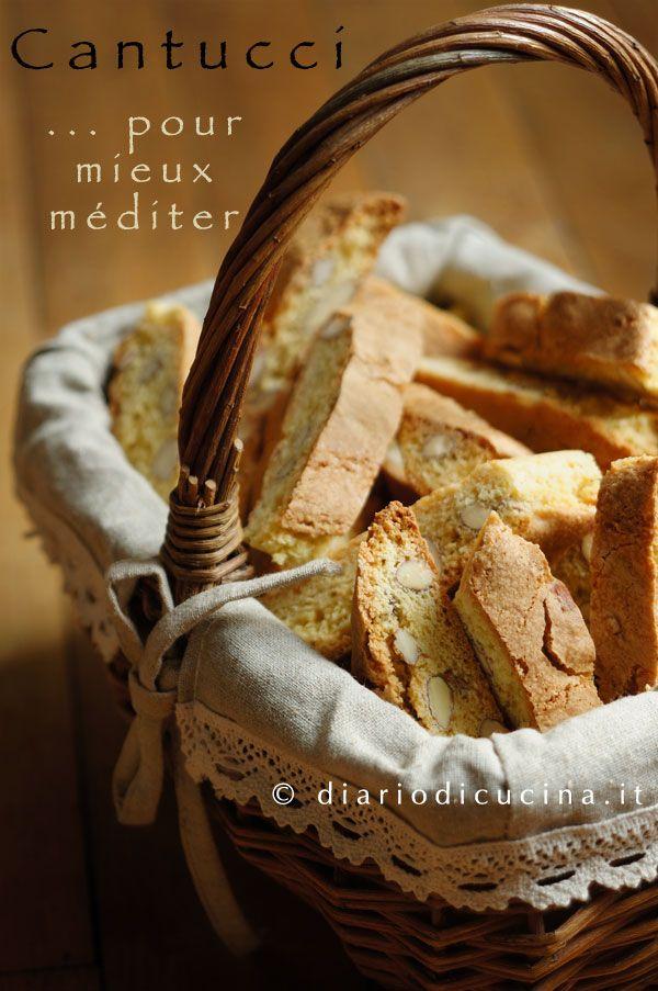 Ricetta Cantucci Toscani - Diario di Cucina. Expat-Mamma in Francia.