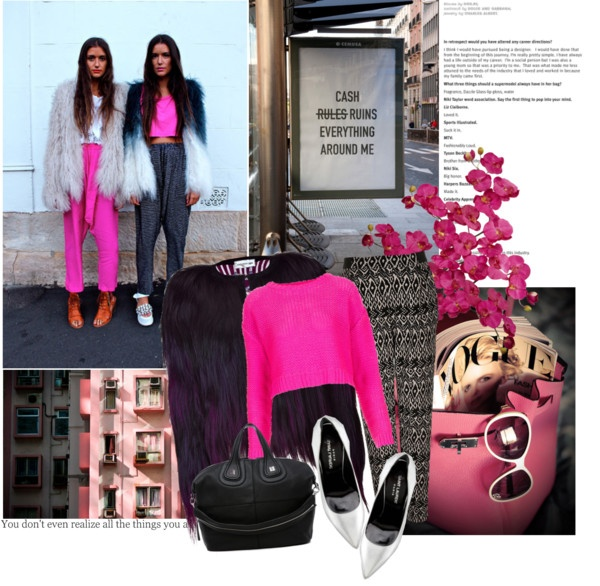 """""""pink"""" by zsani20 ❤ liked on Polyvore"""