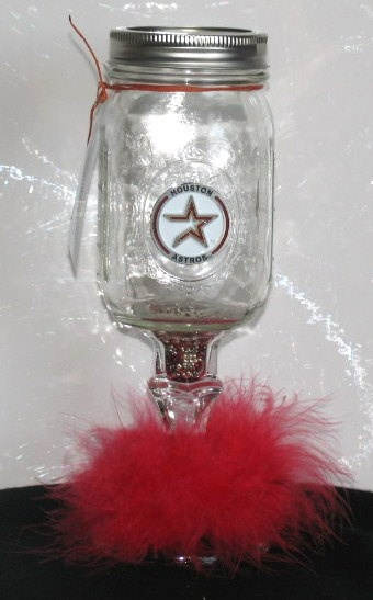 Redneck Wine Glass  Cowgirl Cocktails HOUSTON by GypsyRaeDesigns, $23.99