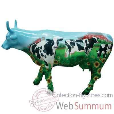 Cow Parade Figurines 2000 | Cow Parade -West Hartford 2003, Artiste Mary Beth Whalen - Cow Barn ...