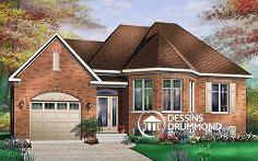 Plan de maison no. W3419 de dessinsdrummond.com