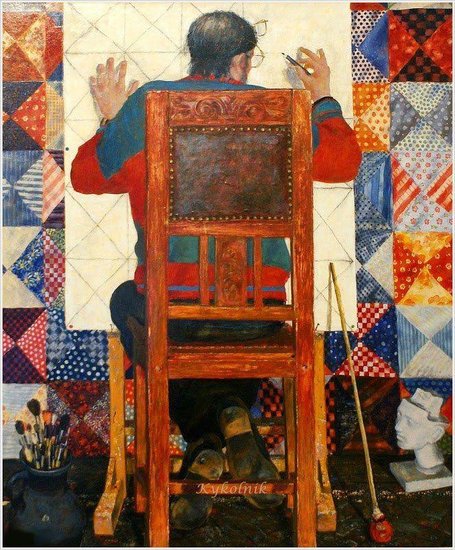 Юфреев Г.В. триптих «Путь» 2008