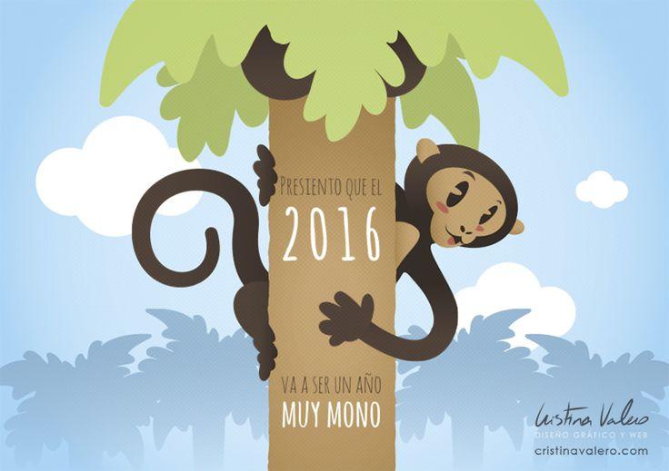 https://flic.kr/p/CtSfYB   Año del mono   Según el horóscopo chino, el año 2016 es el año del mono. Los años del mono incluyen 1920, 1932, 1944, 1956, 1968, 1980, 1992, 2004, 2016, y 2028.