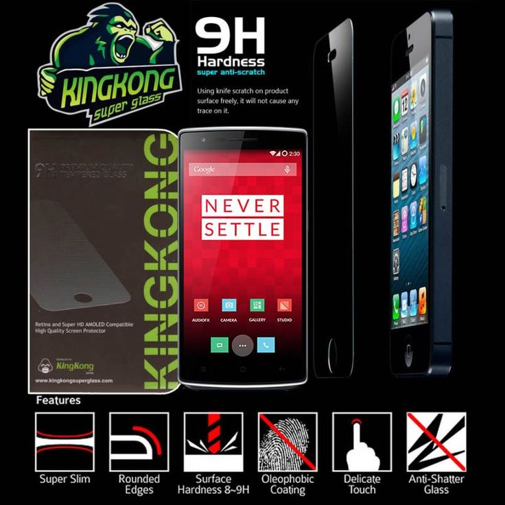 Kingkong Tempered Glass One Plus One - Rp 140.000 - kitkes.com