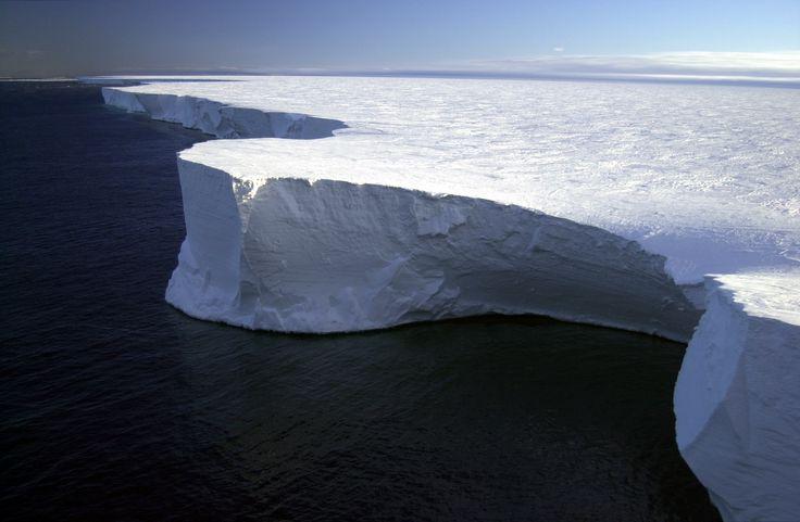 Ross ice shelf - Antartica
