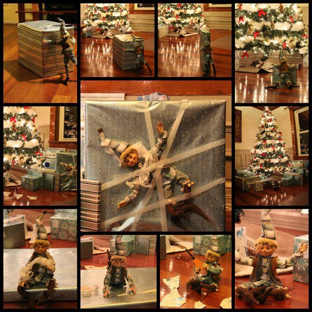 Wooloo | Chasse aux lutins de Noel...la suite #elfontheshelf