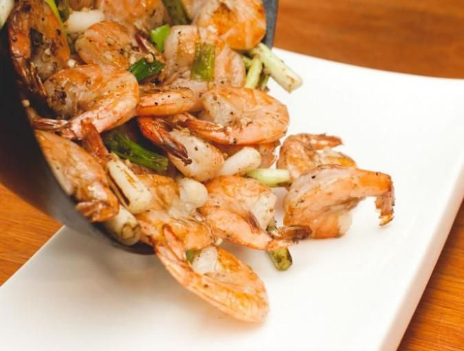 Easy salt and pepper shrimp recipe from Sam the Cooking Guy.