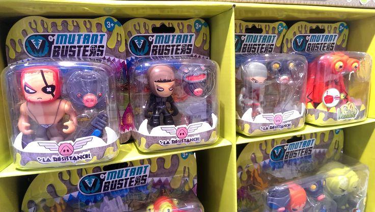 Hoy os presento Mutant Busters , mi proyecto más reciente en Famosa, que acaba de llegar a las tiendas. Es un proyecto que tras más de un a...