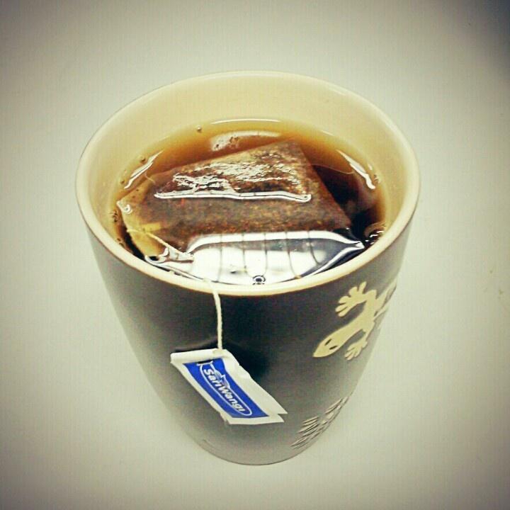Hot Sweet Tea . .