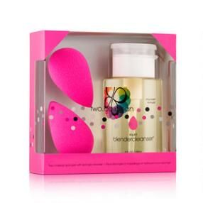 beautyblender two bb clean. Use the beautyblenders for precise makeup application (just wet it first!) and the cleanser to keep your makeup tool looking great.