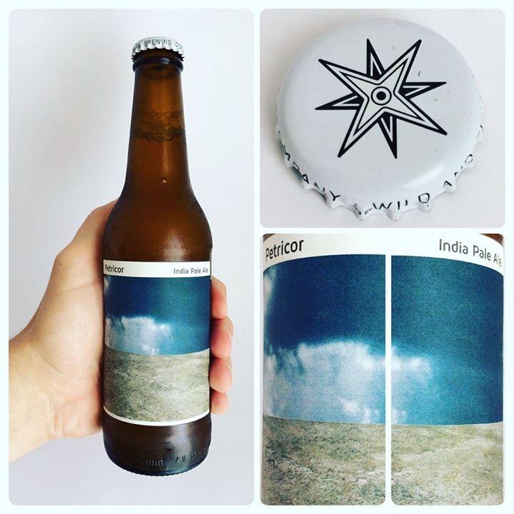 La Cerveza del Viernes: Petricor de Nómada Brewing Co. Sabor con muchos matices fresco afrutado y algo seco al final con muy buen amargor.