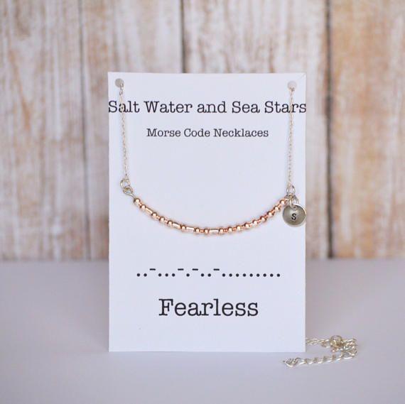 codice Morse gioielli collana di codice morse collana