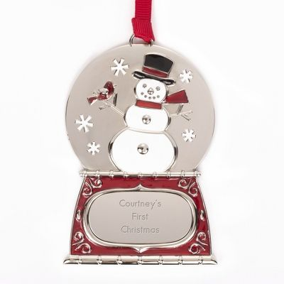 51 best christmas images on pinterest personalised jewellery create a personalized christmas ornament that is sure to please at things remembered find hand painted babys first christmas etched glass ornaments negle Choice Image