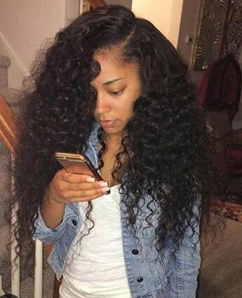 Curly Sew In Hairstyles long curly weave sew in sew in weaves google search protective hairstyles pinterest Best 25 Curly Sew In Ideas On Pinterest Wavy Weave Beautiful Black Hair And Black Beauty Tumblr