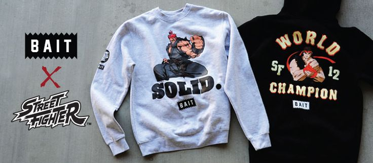 BAIT x Street Fighter 25th Anniversary Championship Collection