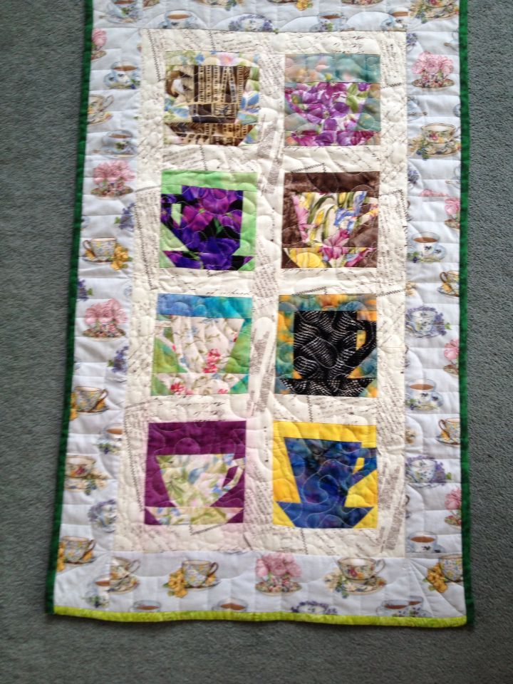 A quilt I made for my sisters cafe in Otautau, South Island, New Zealand.
