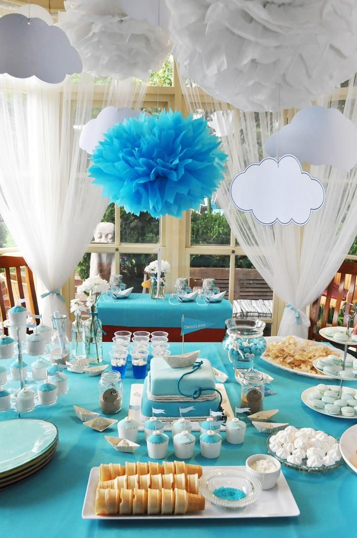 25 best ideas about christening party decorations on for Baby dedication decoration ideas