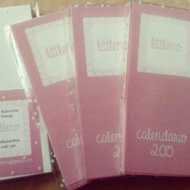 Calendario 2015 de Littleno!  Aún quedan!!! Pedidos en contactlittleno@gmail.com