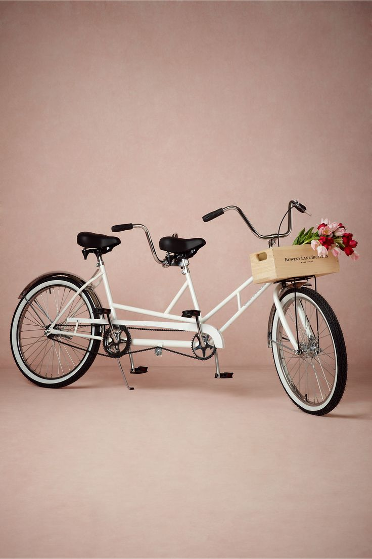 Bowery Lane Tandem Bicycle in Décor Decorations at BHLDN