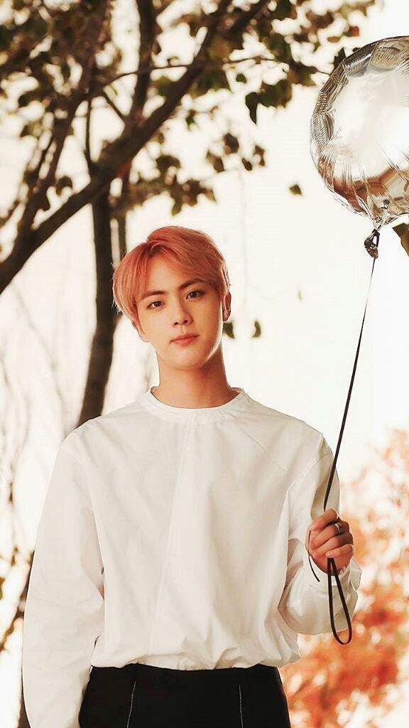 Kim Seokjin! You need to stay in your lane, bucko! But seriously, this cute face is ruining me...