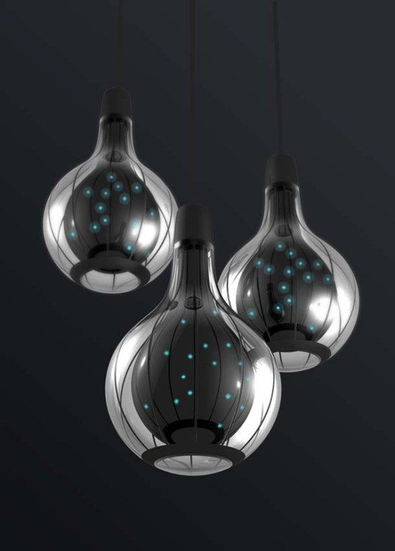 Strange Hanging Lights Modern Bubble Pendant Lights