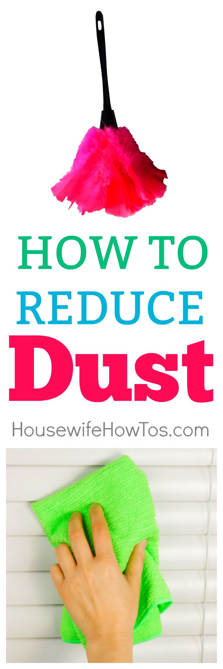 How to Reduce Dust - 7 tips that REALLY work.