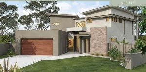 House Plan - David Reid Homes - Alpine 4 bedrooms, 2 bath, 427m2 #building #architecture #davidreidhomesaus