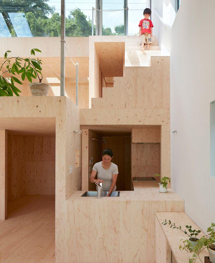 Re-Slope House / Tomohiro Hata