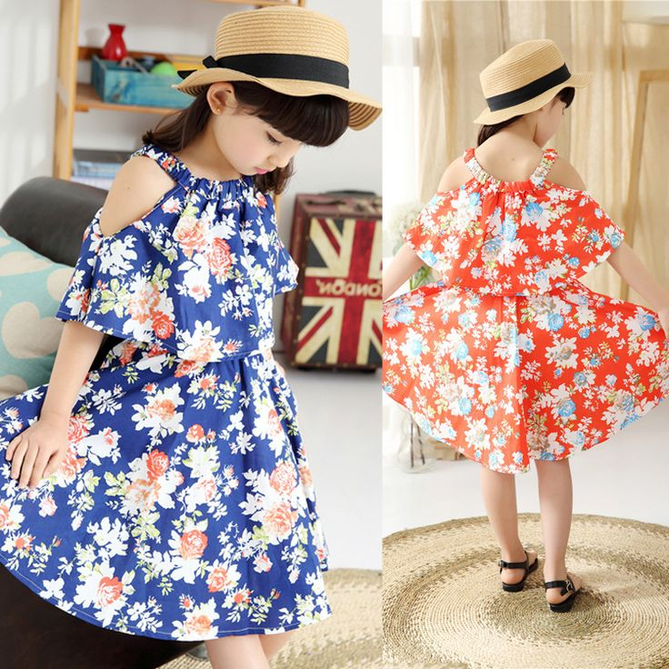 Cheap ruffles flavors, Buy Quality ruffle dress directly from China ruffled hem dress Suppliers: Summer baby big girls dress matching mother daughter dresses outfit children teenager clothing kids navy red blue strip