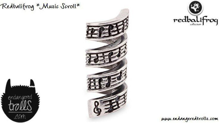 Redbalifrog Music Scroll