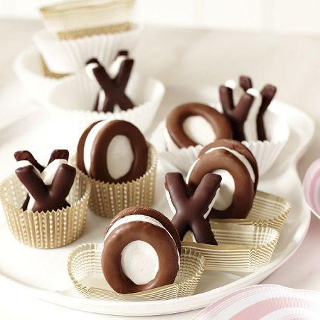 X and O S'mores, looks sooo delicious.