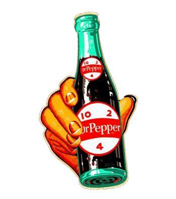 vintage Dr Pepper art