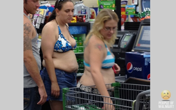 do people just not look in the mirror or do they really think they look good?: Picture, Beaches, Walmart People, 2012 Food, The Beach, Wal Mart People, People Of Walmart, Walmart Wtf