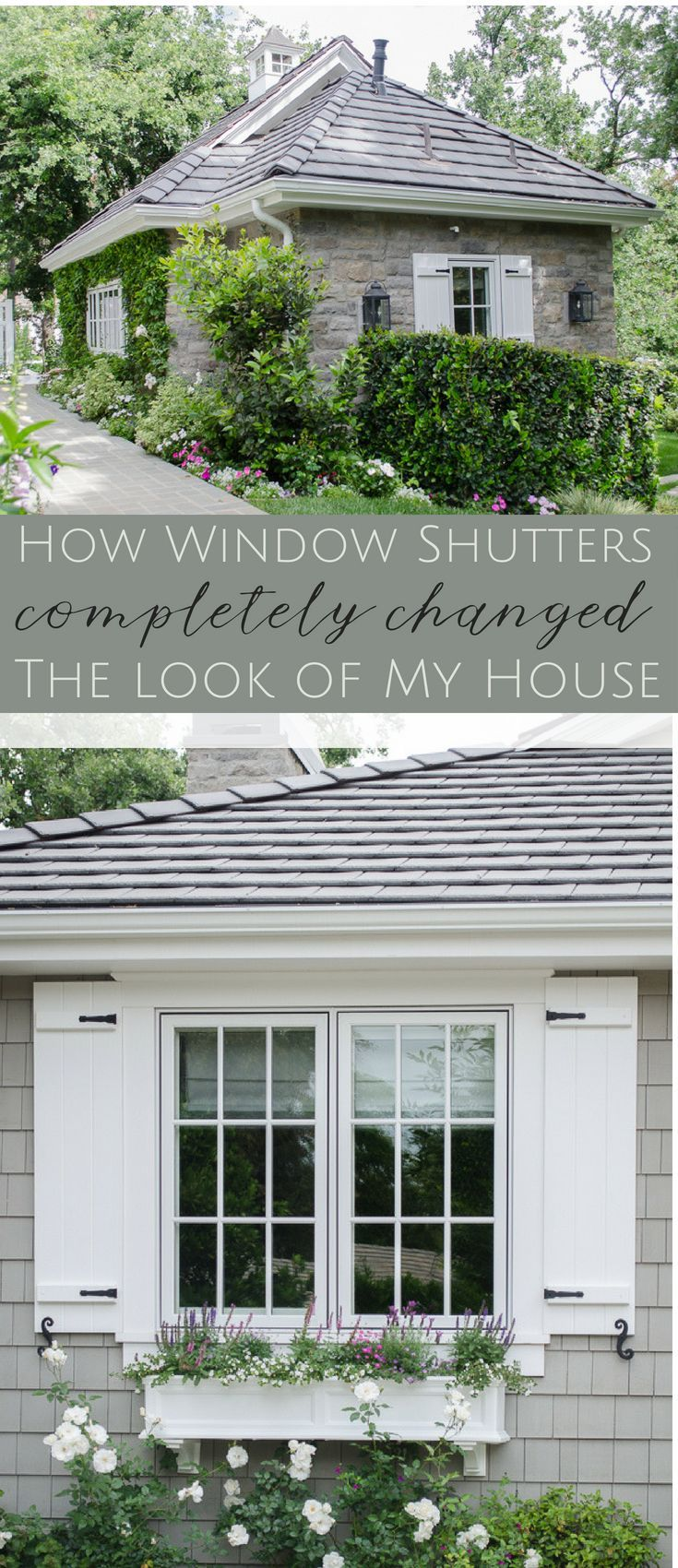 How Window Shutters And Planter Boxes Transformed The Exterior Of