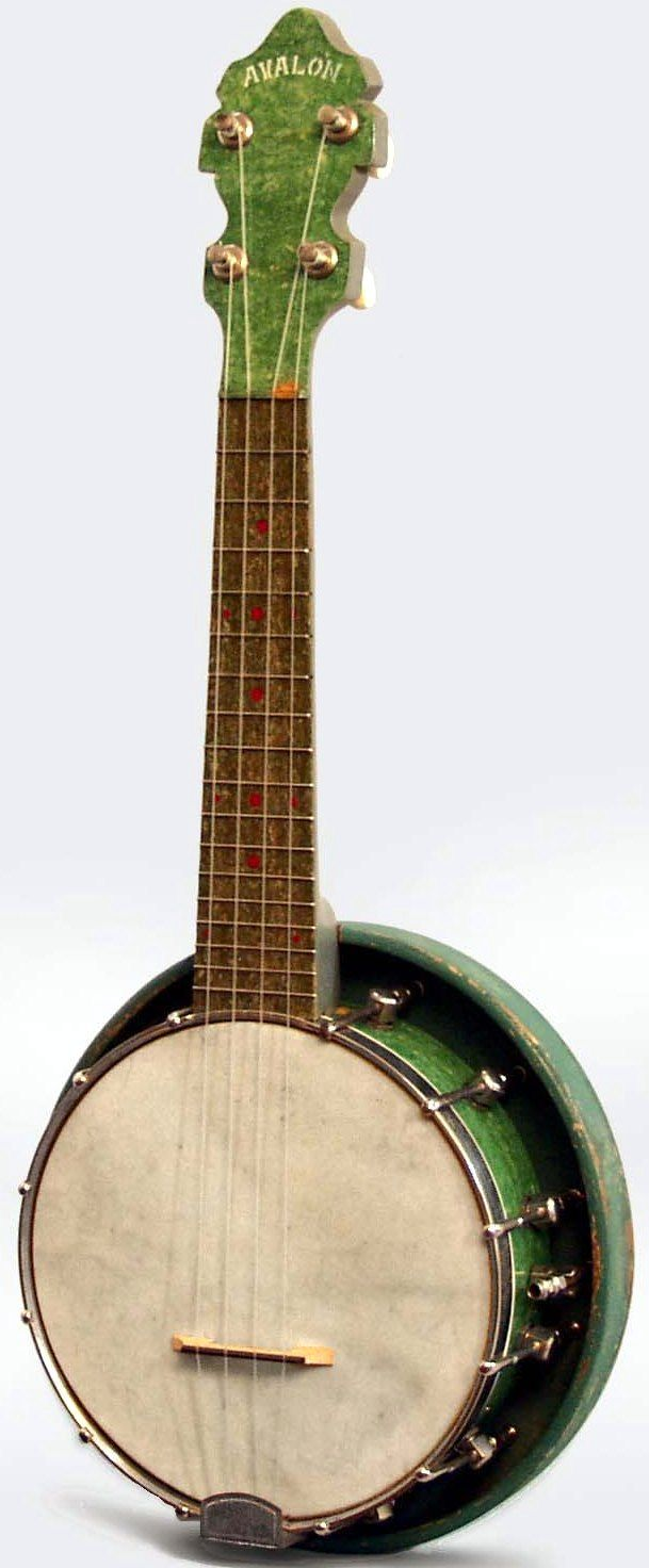Stadlmair Avalon Banjo Ukulele #LardysUkuleleOfTheDay ~ https://www.pinterest.com/lardyfatboy/lardys-ukulele-of-the-day/ ~