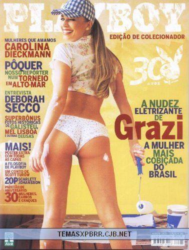 Playboy 30 anos - Grazielli Massafera - Agosto 2005
