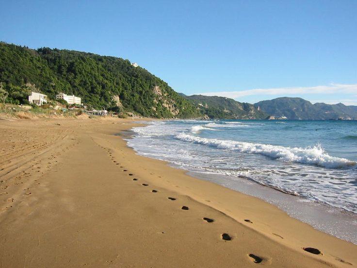 Glyfada beach #Corfu