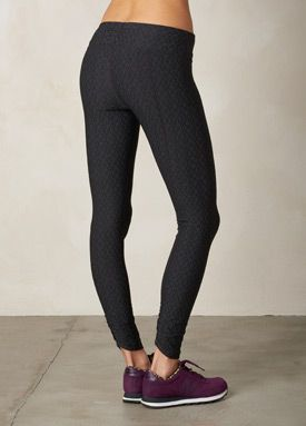 The Misty Legging is cut from a jacquard performance stretch knit with  moisture wicking technology. This mid-rise compression legging features a  triangle ...