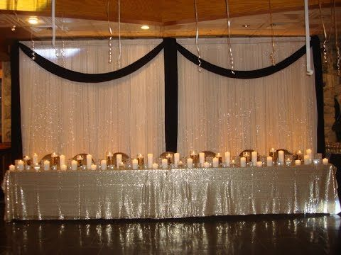Lovely Rent This Gorgeous Floating Candle, Crystal U0026 Pillar Candle Combination For  Your Sweetheart Table. This Dais Decor Will Grab Your Guests Attention.