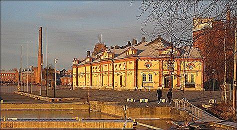 Kuntsi Museum of Modern Art. Ostrobothnia province of Western Finland - Vaasa, Pohjanmaa