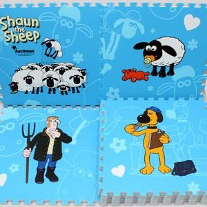 Karpet Puzzle Evamat Shaun The Sheep 30 x 30 cm