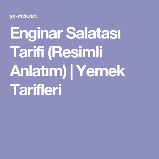 Enginar Salatası Tarifi (Resimli Anlatım) | Yemek Tarifleri