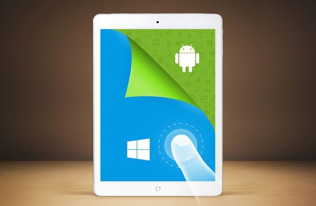 Kloningan iPad Air Bisa Jalankan Android atau Windows
