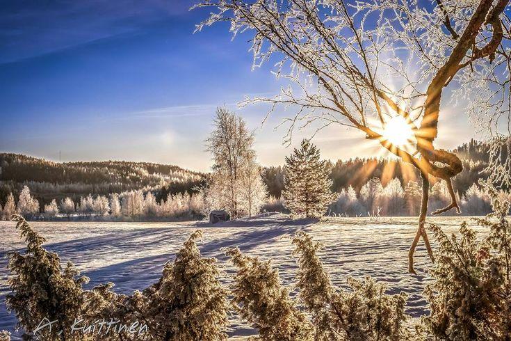 Winter in Finland by photographer Asko Kuittinen.